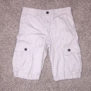 Mens Cargo Shorts Tan